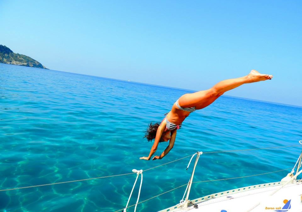 10 razloga zašto je jedrenje najbolje letovanje